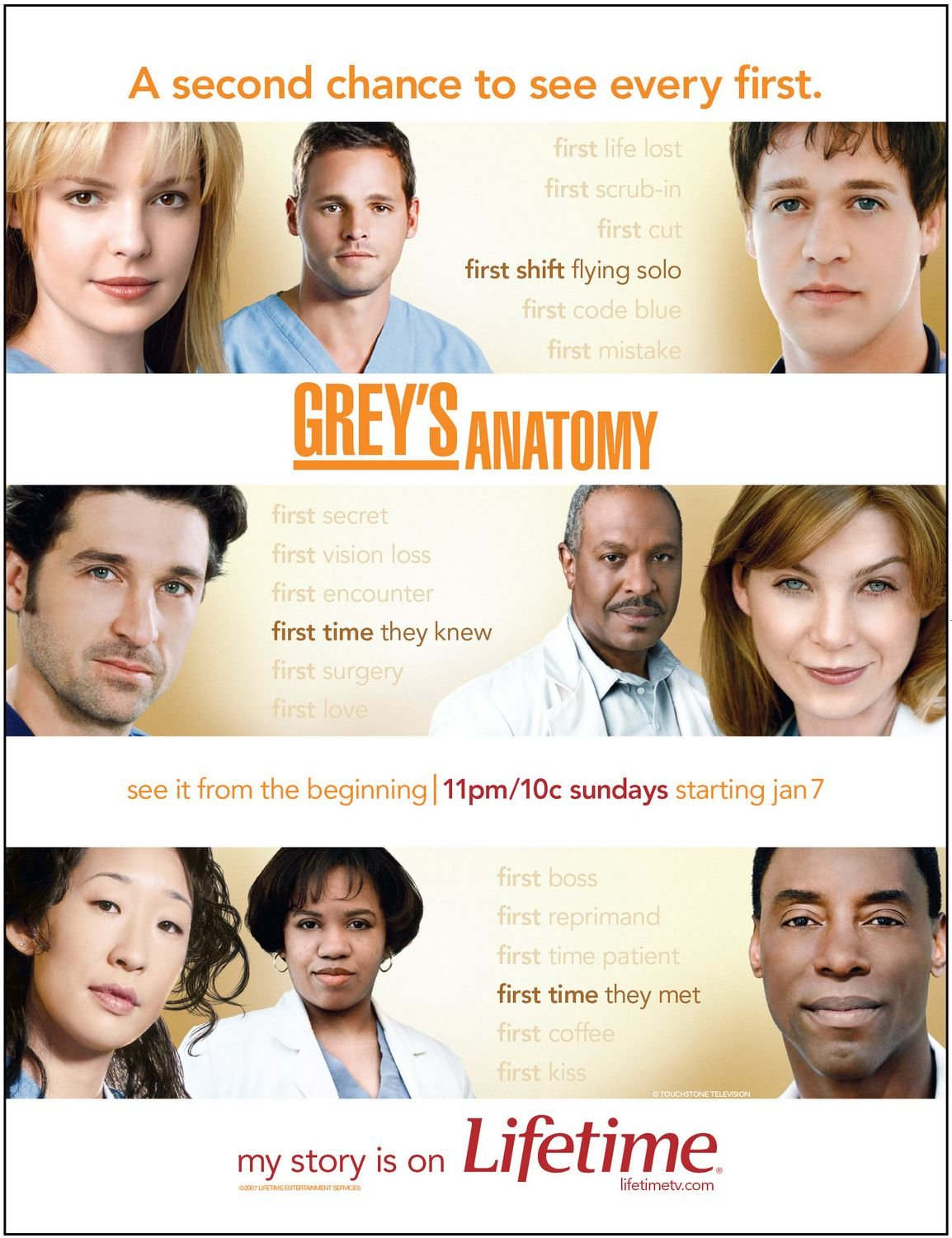 Grey\'s Anatomy (2005) poster - TVPoster.net