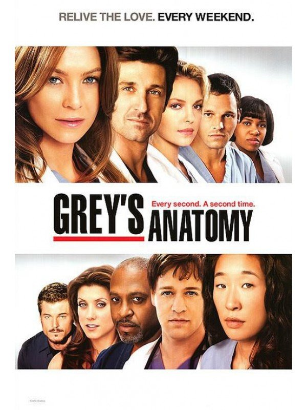 Greys Anatomy 2005 Poster Tvposter