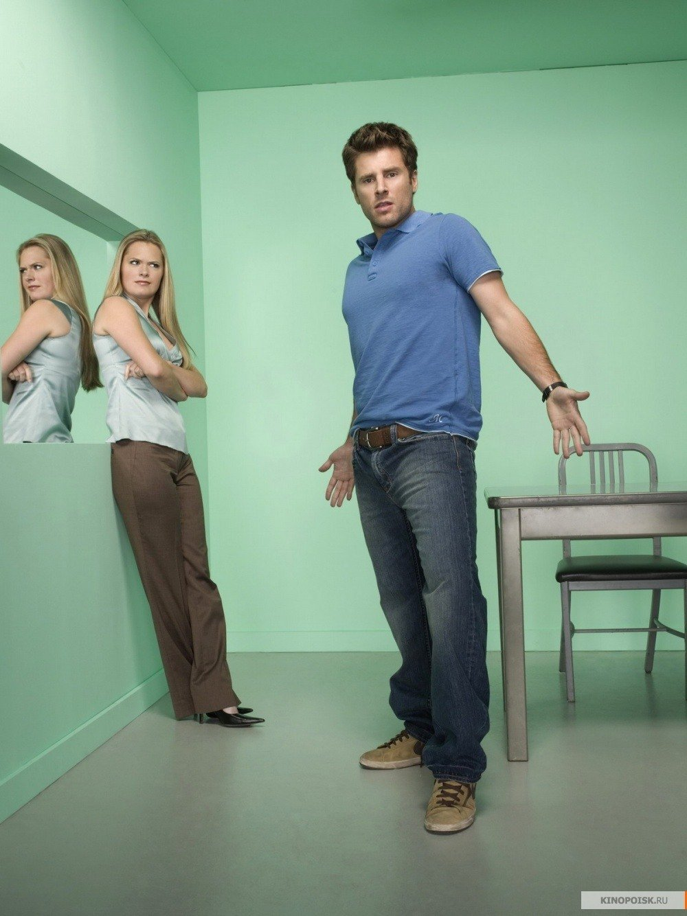 Psych James Roday and Maggie Lawson