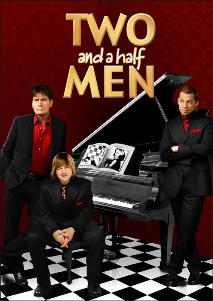 Two and a Half Men poster